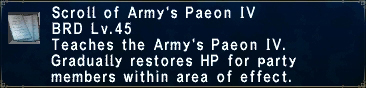 Army's Paeon IV