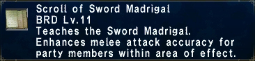 Sword Madrigal