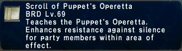 Puppet's Operetta