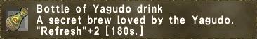 Yagudo Drink