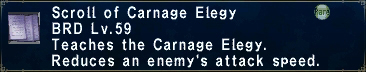 Carnage Elegy