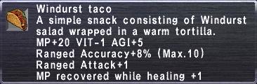 Windurst Taco