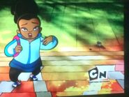 Lost Class of 3000 Bumper- Tamika with Her Backpack Going to School with Her Buddies