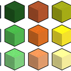Colored Sand Blocks