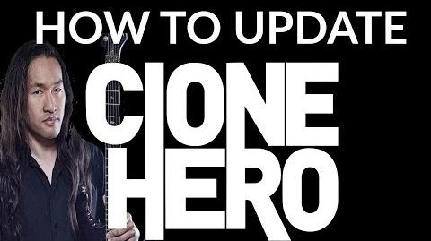 HOW TO UPDATE CLONE HERO 100% WORKING 2017 - YOU DON'T LOSE YOUR SONGS!!
