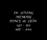 Ponce's Memorial