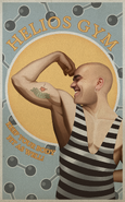 Helios Gym Poster