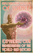 Exploring New Frontiers Of Science! Poster