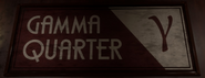 Gamma Quarter Sign