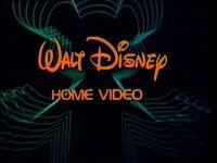 Walt Disney Home Video 1983-1986 logo