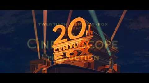 20th Century Fox logo (1953) with CinemaScope extension (HD)