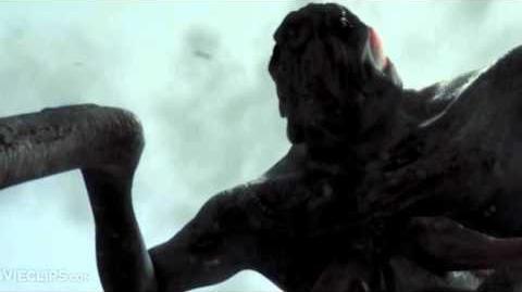Clover monster sound effects (Cloverfield)