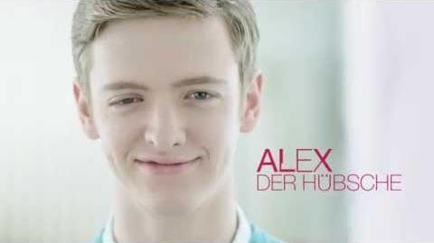 """Alex - Der Hübsche im """"Club der roten Bänder"""""""