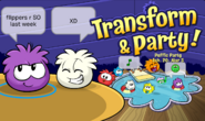 Puffle Party 2020 Login Screen 2