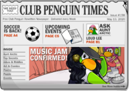 Club Penguin Times Issue 158