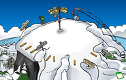 Ski Hill Jellyfish Pin