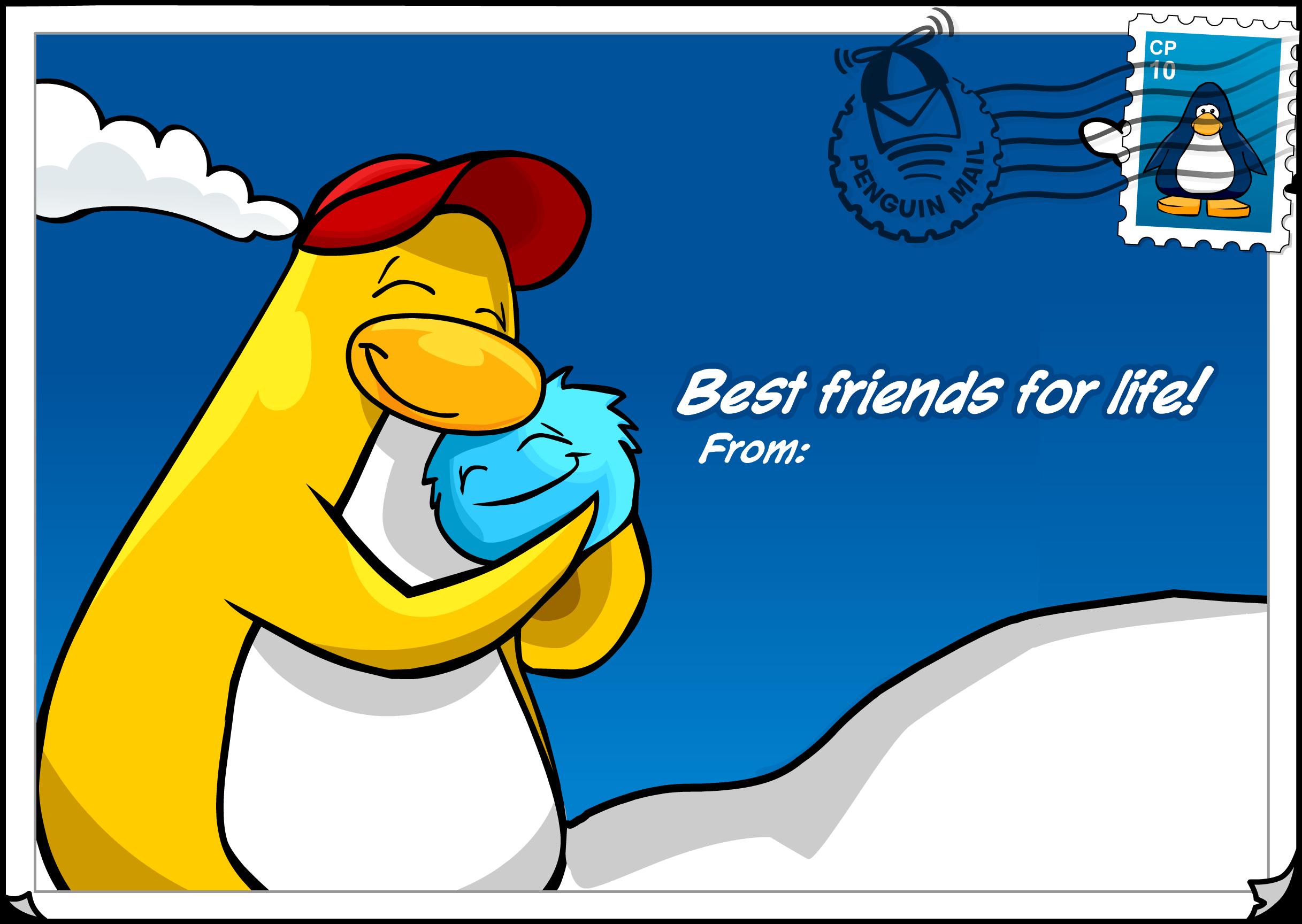 Best Friends Postcard (ID 44)