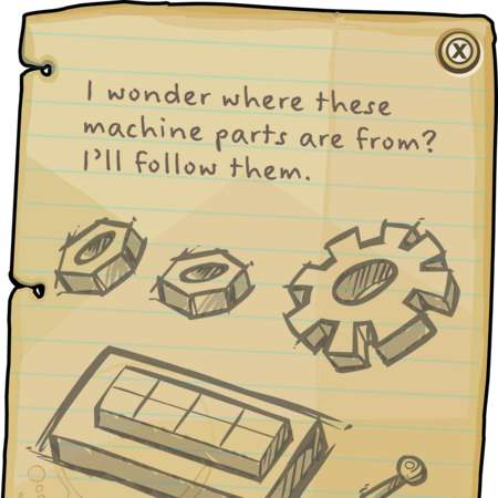 Wilderness Expedition Glade Note.png