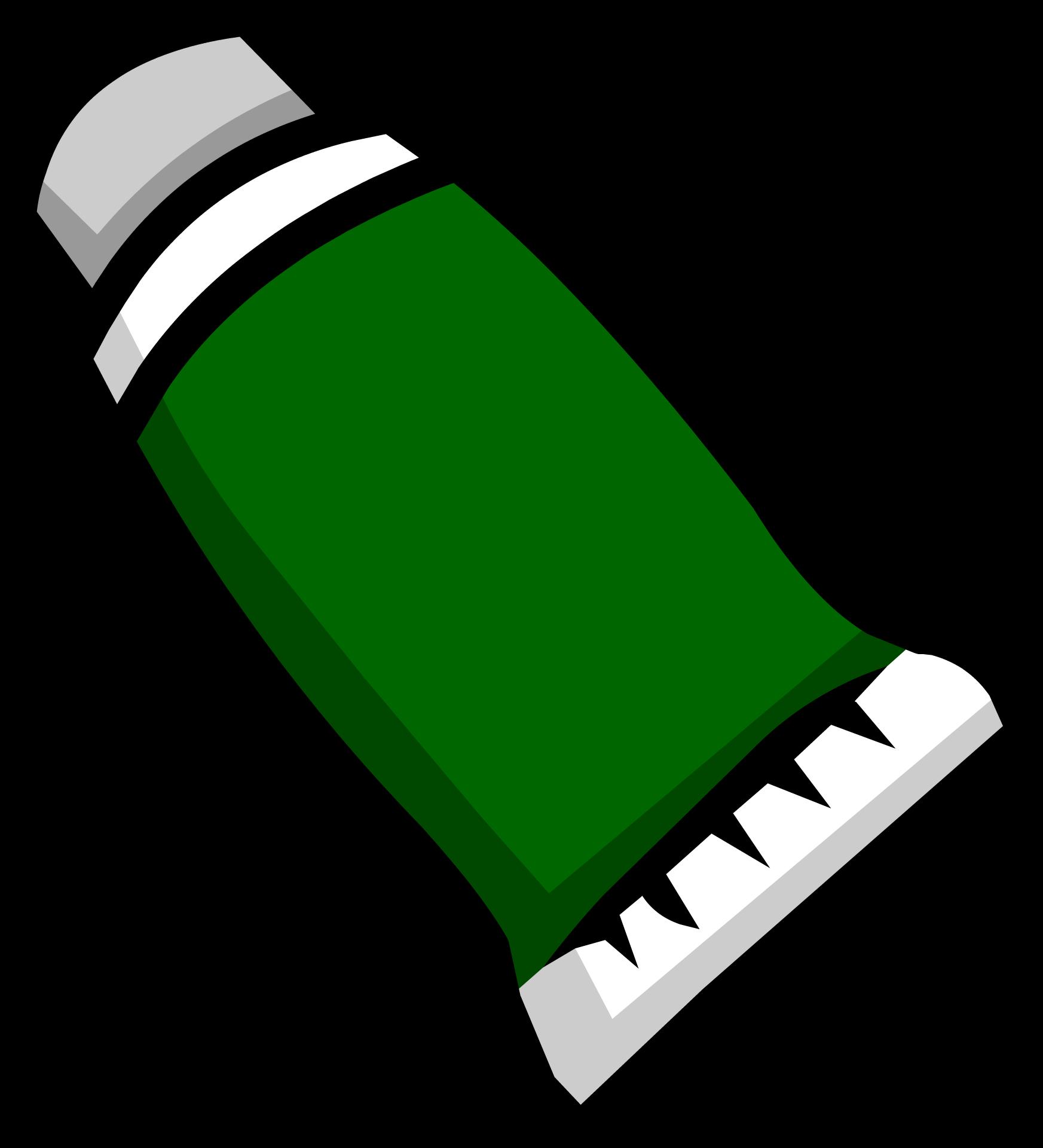 Green Face Paint