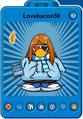 Lovebacon56 Player Card - Early March 2020 - Club Penguin Rewritten