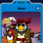 Maah Playercard - Late March 2020 - Club Penguin Rewritten.png
