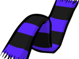 Purple Halloween Scarf