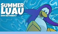 Summer Luau Login Screen