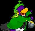 Club Penguin Times St. Patricks Penguin 2