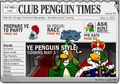 Club Penguin Times Issue 9