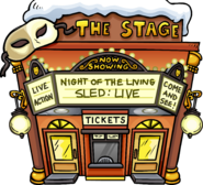 Night of the Living Sled Live Exterior