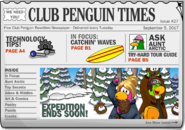 Club Penguin Times Issue 27