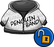 Penguin Band Hoodie Unlockable