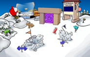April Fools' Party 2019 Snow Forts