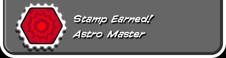 Astro Master Stamp