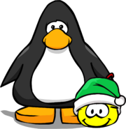 Holiday Party 2020 Yellow Puffle PC