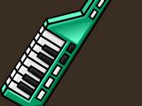 Green Keytar