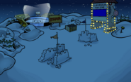 Festival of Lights Snow Forts