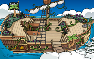 Island Adventure Party 2018 construction Pirate Ship