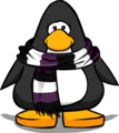 Purple Rugby Scarf PC