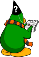 Halloween Scarf Penguin Issue 92