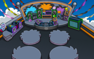Puffle Party 2020 Night Club Rooftop