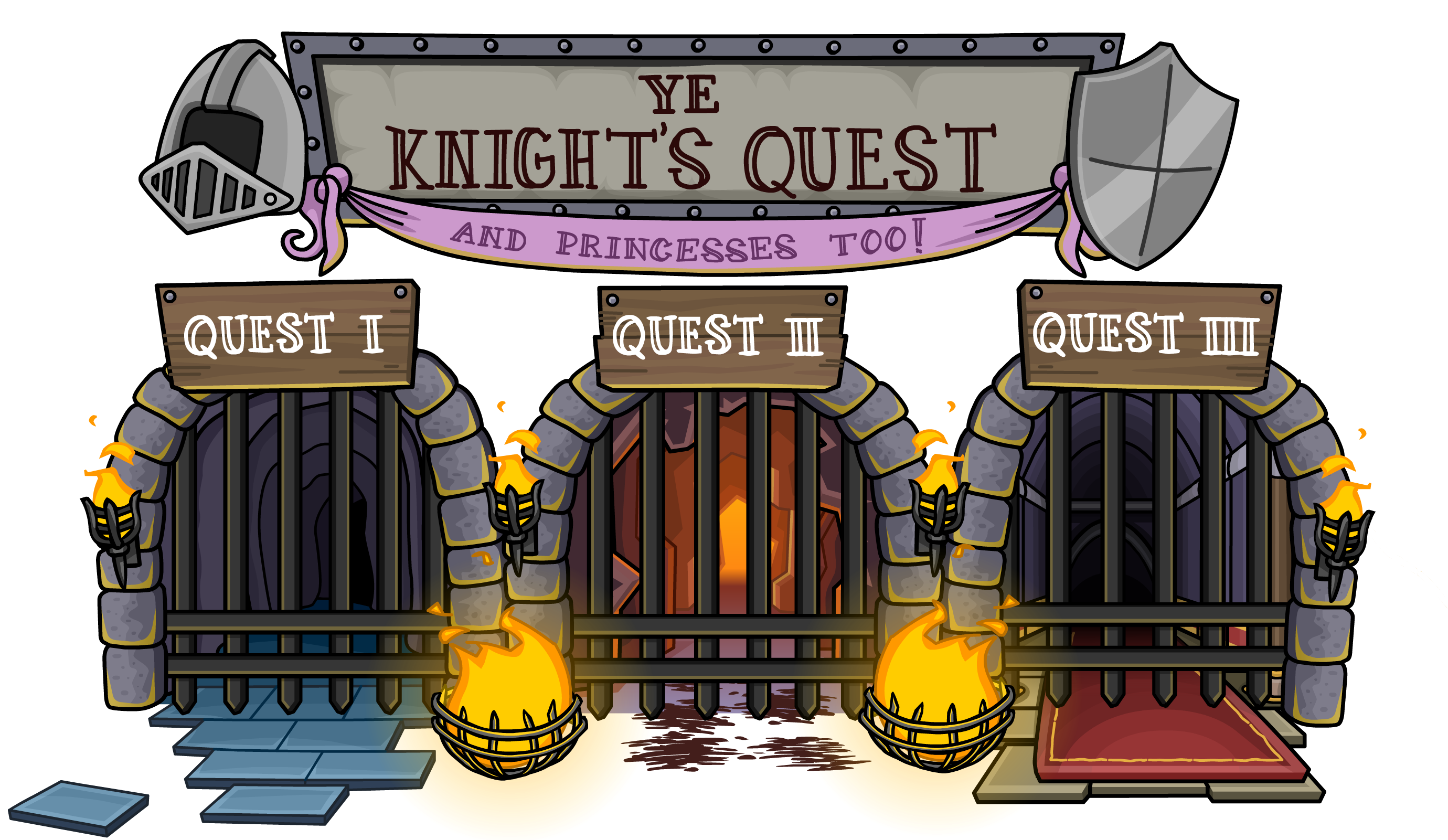 Ye Knight's Quest (disambiguation)