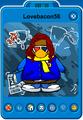 Lovebacon56 Player Card - Mid July 2020 - Club Penguin Rewritten