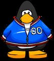 Blue Track Jacket PC