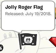 Jolly Roger Pin SB