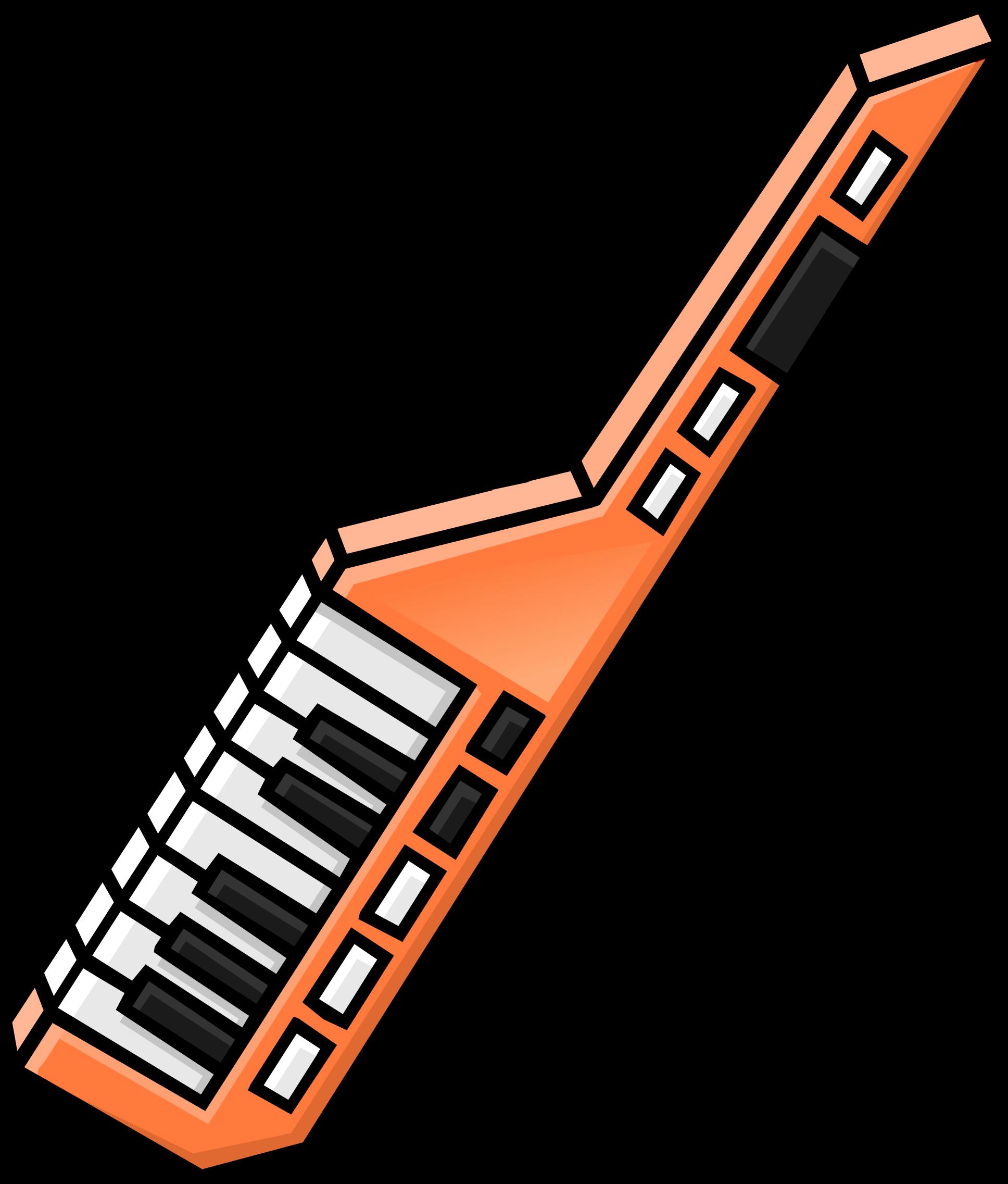 Orange Keytar