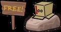 Box Hat Location