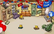 Penguin Games Ski Lodge
