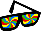 Swirly Glasses
