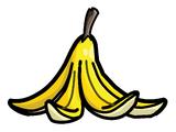Banana Peel Pin